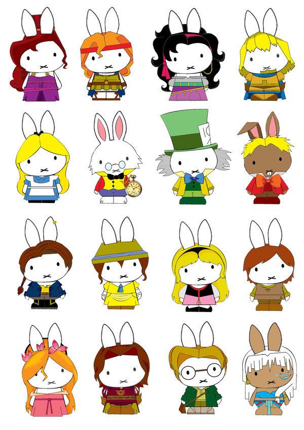 bunny characters cute disney generation miffy favim com 161635